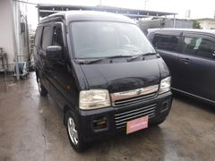沖縄の中古車 スズキ エブリイワゴン 車両価格 19万円 リ済込 平成15年 21.5万K ブラック