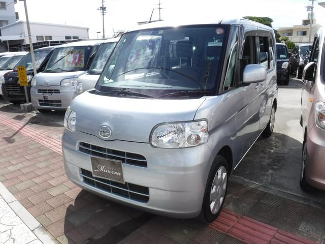 沖縄の中古車 ダイハツ タント 車両価格 38万円 リ済込 平成25年 10.7万km シルバー