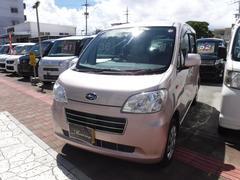 沖縄の中古車 スバル ルクラ 車両価格 34万円 リ済込 平成25年 14.1万K ピンクM