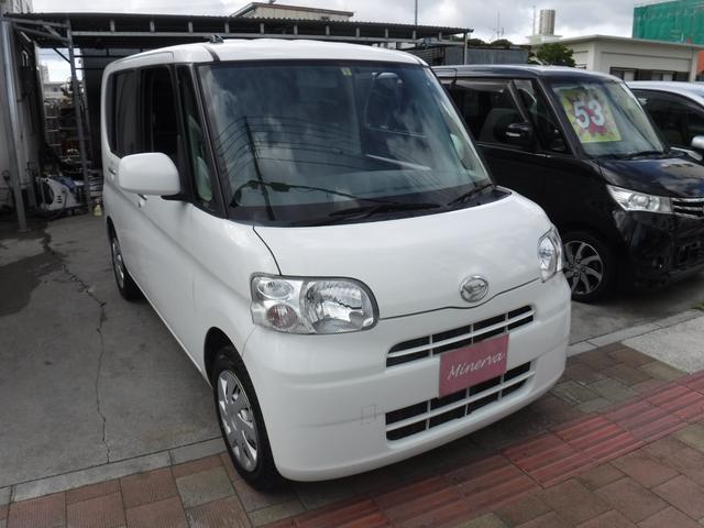 沖縄の中古車 ダイハツ タント 車両価格 31万円 リ済込 平成25年 16.3万km ホワイト
