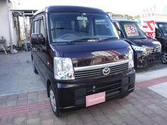 沖縄の中古車 マツダ スクラムワゴン 車両価格 49万円 リ済込 平成24年 13.9万K ダークパープル