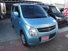 沖縄の中古車 マツダ AZワゴン 車両価格 29万円 リ済込 平成24年 12.7万K ブルー