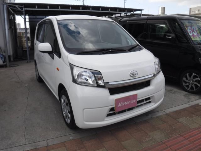 沖縄の中古車 ダイハツ ムーヴ 車両価格 28万円 リ済込 平成25年 15.9万km ホワイト