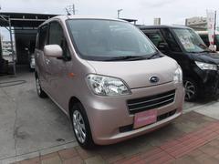 沖縄の中古車 スバル ルクラ 車両価格 33万円 リ済込 平成24年 12.8万K ピンク