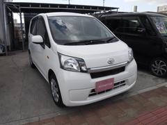 沖縄の中古車 ダイハツ ムーヴ 車両価格 28万円 リ済込 平成25年 15.9万K ホワイト