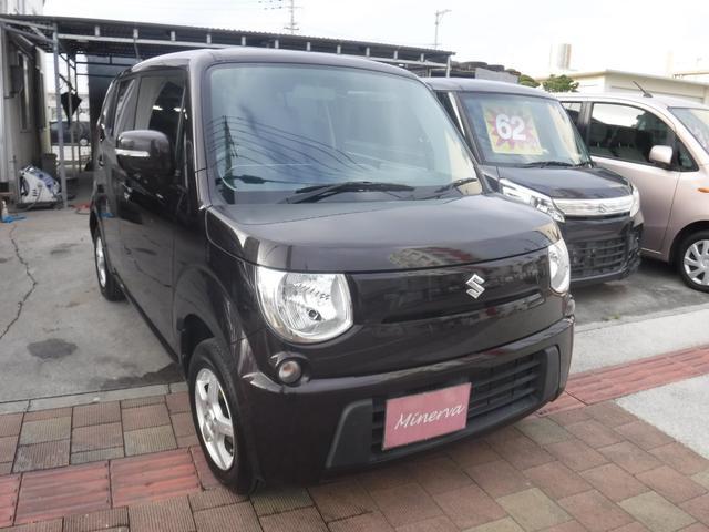 沖縄の中古車 スズキ MRワゴン 車両価格 32万円 リ済込 平成24年 13.3万km Dブラウン
