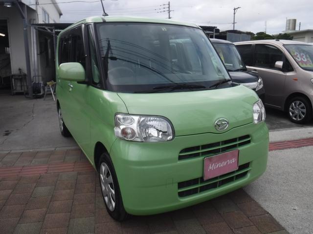 沖縄の中古車 ダイハツ タント 車両価格 36万円 リ済込 平成24年 12.5万km LグリーンM