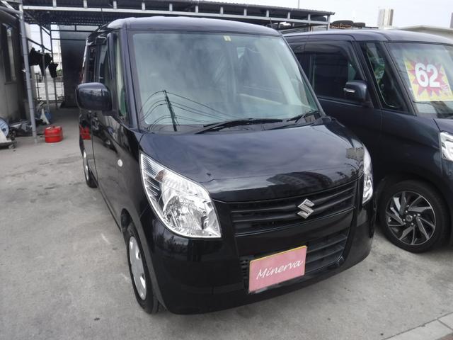 沖縄の中古車 スズキ パレット 車両価格 36万円 リ済込 平成24年 15.2万km ブラックM