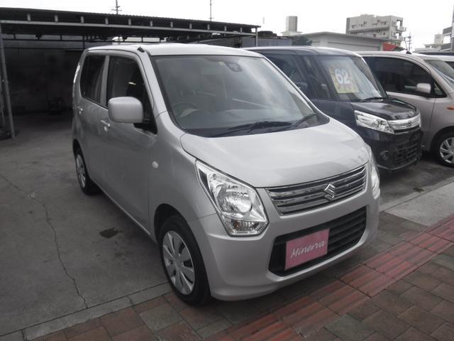 沖縄県の中古車ならワゴンR FX TVナビ
