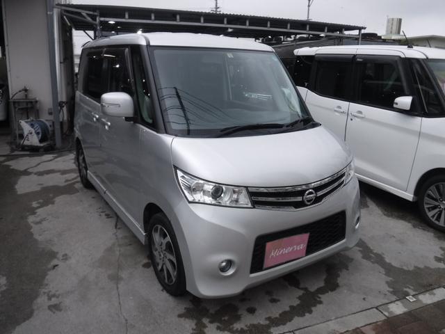 沖縄の中古車 日産 ルークス 車両価格 37万円 リ済込 2012(平成24)年 15.2万km ライトシルバー