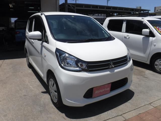 沖縄の中古車 三菱 eKワゴン 車両価格 28万円 リ済込 2014(平成26)年 11.6万km ホワイト