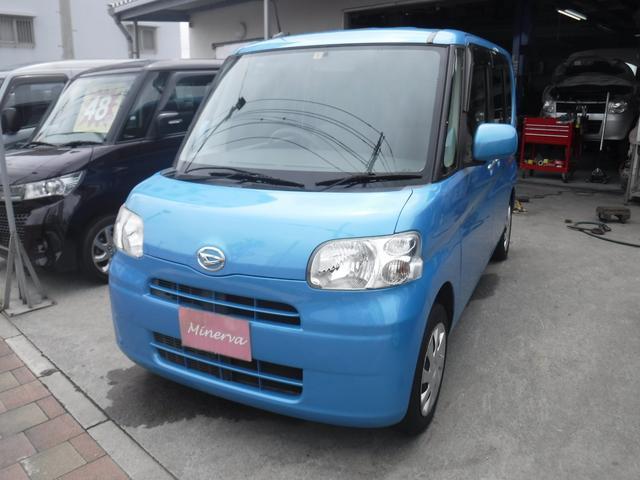 沖縄の中古車 ダイハツ タント 車両価格 32万円 リ済込 2012(平成24)年 15.7万km ブルー