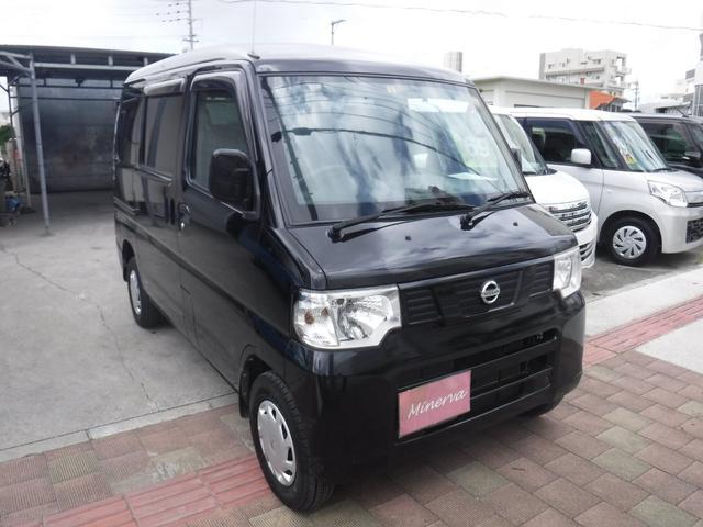 沖縄の中古車 日産 クリッパーバン 車両価格 37万円 リ済込 2013(平成25)年 14.1万km ブラックM