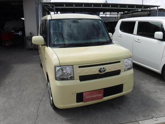 沖縄の中古車 トヨタ ピクシススペース 車両価格 32万円 リ済込 2013(平成25)年 12.2万km ライトイエロー