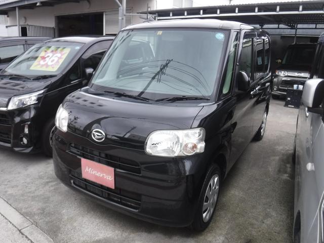 沖縄の中古車 ダイハツ タント 車両価格 35万円 リ済込 2013(平成25)年 10.0万km ブラックM