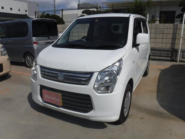 沖縄の中古車 スズキ ワゴンR 車両価格 27万円 リ済込 2013(平成25)年 13.1万km ホワイト