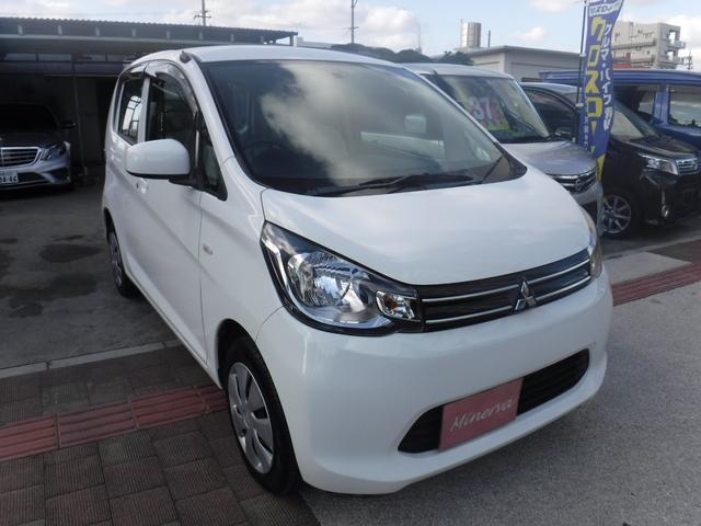 沖縄の中古車 三菱 eKワゴン 車両価格 33万円 リ済込 2014(平成26)年 10.3万km ホワイト
