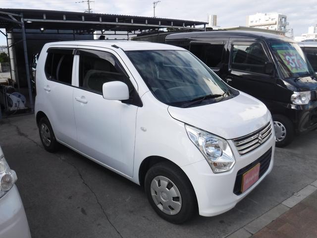 沖縄の中古車 スズキ ワゴンR 車両価格 31万円 リ済込 2013(平成25)年 13.1万km ホワイト