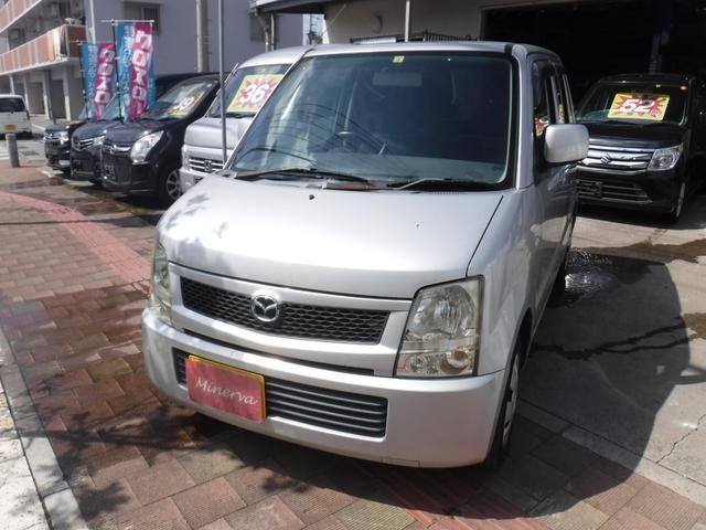 沖縄の中古車 マツダ AZワゴン 車両価格 7.5万円 リ済込 2005(平成17)年 15.8万km シルバーM
