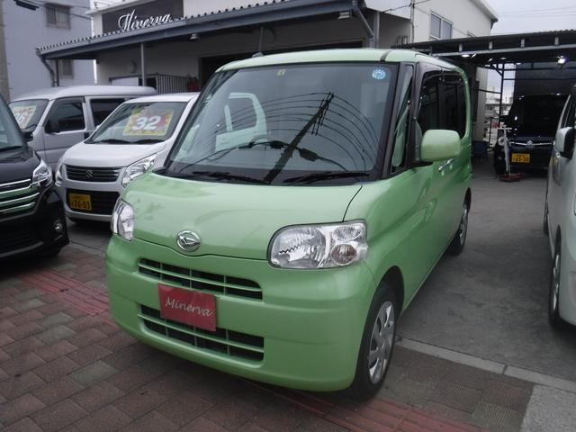沖縄の中古車 ダイハツ タント 車両価格 35万円 リ済込 2013(平成25)年 15.5万km LグリーンM