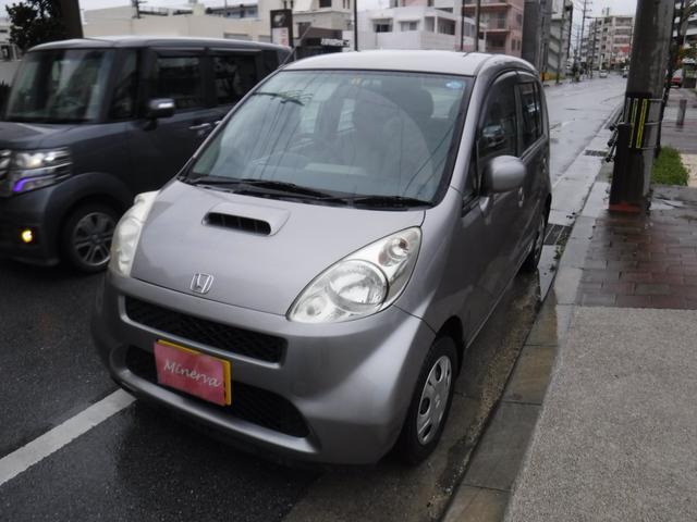 沖縄の中古車 ホンダ ライフ 車両価格 5万円 リ済込 2005(平成17)年 12.2万km シルバーM