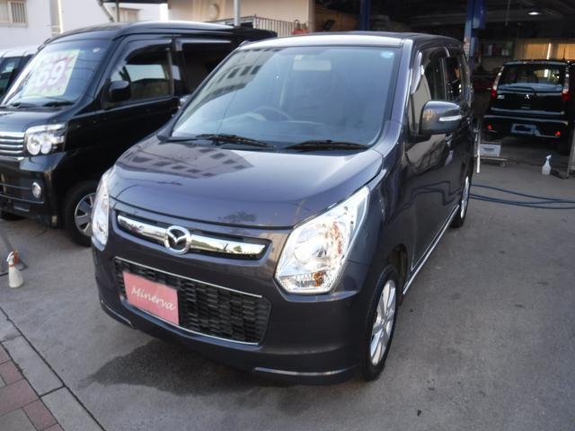 沖縄の中古車 マツダ フレア 車両価格 39万円 リ済込 2013(平成25)年 10.7万km ダークグレーM