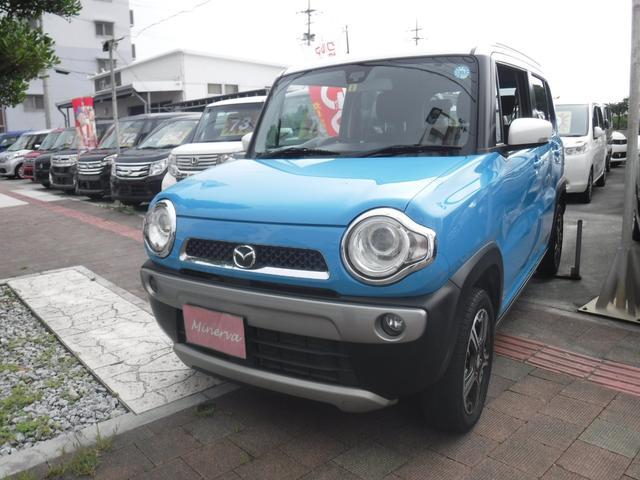 沖縄県の中古車ならフレアクロスオーバー XT ターボ スマートキー