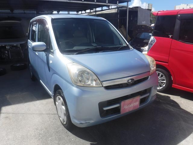 沖縄の中古車 スバル ステラ 車両価格 12.5万円 リ済込 2007(平成19)年 11.9万km ライトブルーM