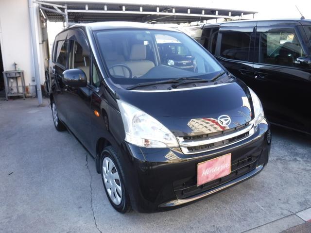 沖縄の中古車 ダイハツ ムーヴ 車両価格 26万円 リ済別 2012(平成24)年 16.8万km ブラックM