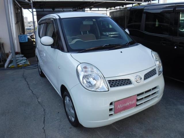 沖縄の中古車 日産 モコ 車両価格 16万円 リ済込 2007(平成19)年 10.0万km パールホワイト