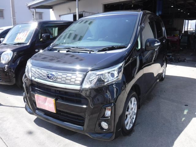 沖縄県の中古車ならステラ カスタムR 純正フルエアロ アルミ 本土中古車 TVナビDVD Bluetooth