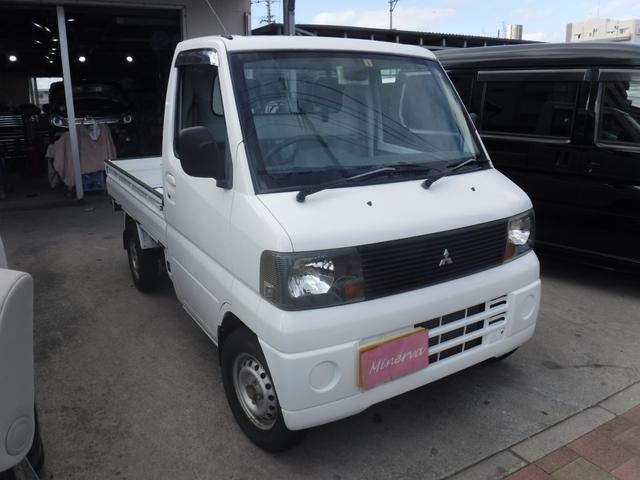 沖縄の中古車 三菱 ミニキャブトラック 車両価格 30万円 リ済込 2005(平成17)年 10.2万km ホワイトM