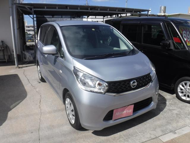 沖縄の中古車 日産 デイズ 車両価格 35万円 リ済込 2015(平成27)年 11.0万km シルバーM
