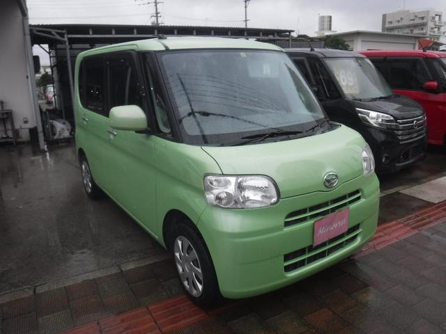 沖縄の中古車 ダイハツ タント 車両価格 23.5万円 リ済込 2012(平成24)年 14.0万km LグリーンM