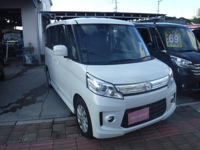 沖縄県の中古車ならフレアワゴンカスタムスタイル XS 純正フルエアロ アルミ