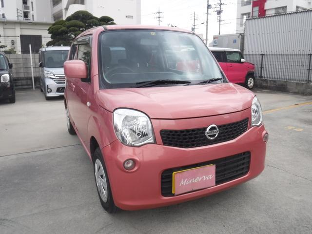 沖縄の中古車 日産 モコ 車両価格 39万円 リ済込 2015(平成27)年 10.3万km ピンクM