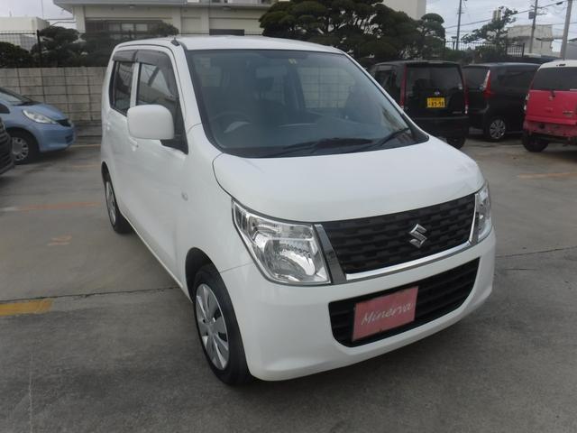 沖縄の中古車 スズキ ワゴンR 車両価格 38万円 リ済込 2016(平成28)年 12.3万km ホワイト