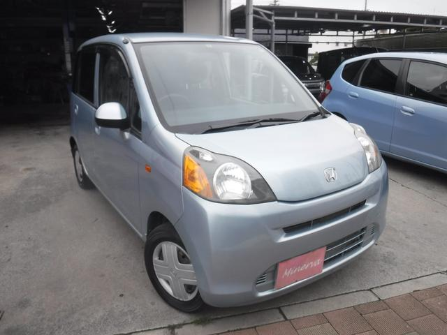 沖縄の中古車 ホンダ ライフ 車両価格 24万円 リ済込 2010(平成22)年 6.2万km ライトブルーM