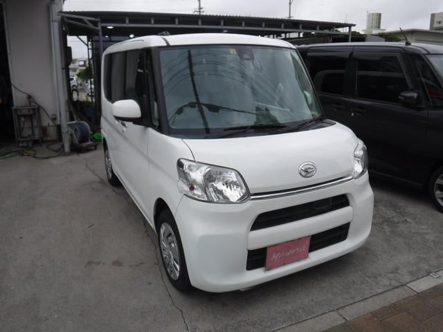 沖縄県の中古車ならタント L SAII スローパー 車椅子使用 TVナビ