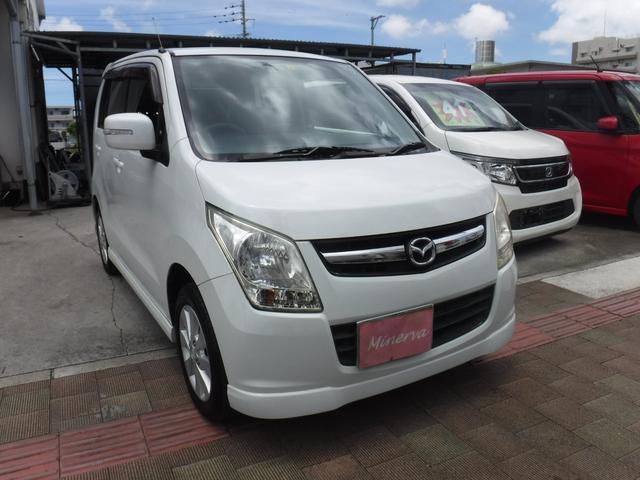 沖縄県の中古車ならAZワゴン XG 純正フルエアロ アルミ