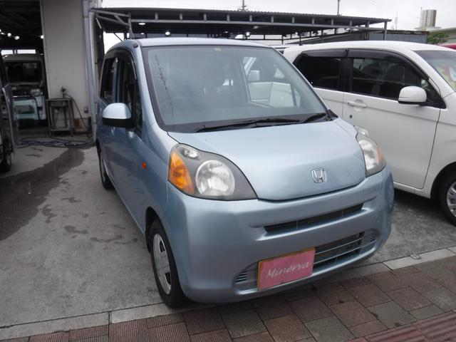 沖縄の中古車 ホンダ ライフ 車両価格 27万円 リ済込 2010(平成22)年 6.2万km ライトブルーM