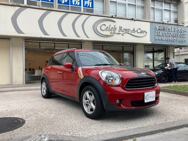 沖縄の中古車 MINI MINI 車両価格 90万円 リ済込 2013(平成25)年 9.6万km レッド