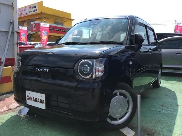 沖縄の中古車 ダイハツ ミラトコット 車両価格 110万円 リ済別 2018(平成30)年 20km ブラックM