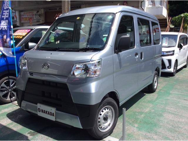 沖縄の中古車 ダイハツ ハイゼットカーゴ 車両価格 98万円 リ済別 2020(令和2)年 20km シルバー