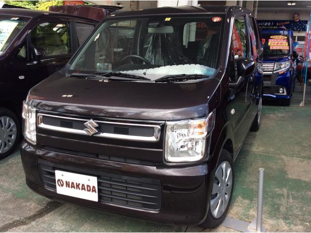 沖縄県うるま市の中古車ならワゴンR ハイブリッドFX