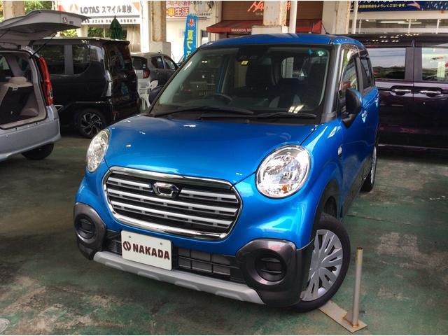 沖縄の中古車 ダイハツ キャスト 車両価格 121万円 リ済込 2020(令和2)年 0.3万km ブルー
