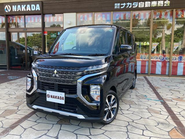 沖縄県の中古車ならeKクロススペース G 届出済未使用車 自社デモカーUP 電動スライドドア