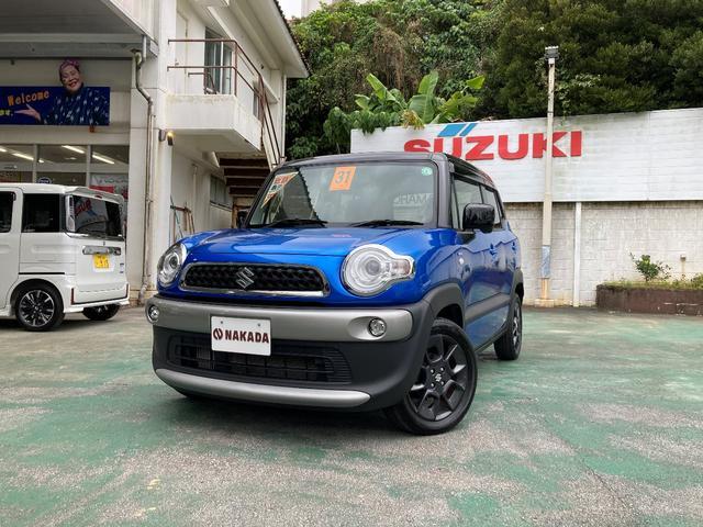 沖縄の中古車 スズキ クロスビー 車両価格 157万円 リ済込 2019(平成31)年 5.0万km 紺