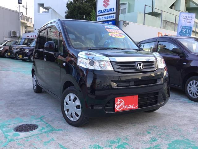 沖縄の中古車 ホンダ ライフ 車両価格 37万円 リ済込 2011(平成23)年 5.5万km ブラック