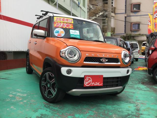 沖縄県の中古車ならハスラー Xスマホ・ナビ装着車